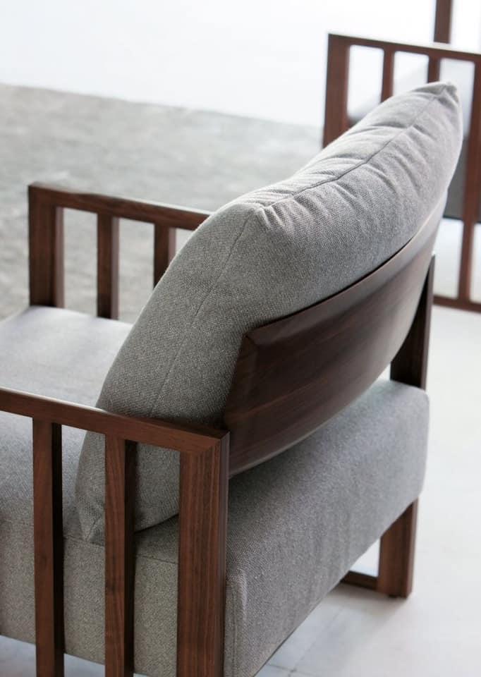 Ghế sofa đơn giản - Ảnh: pinterest.com