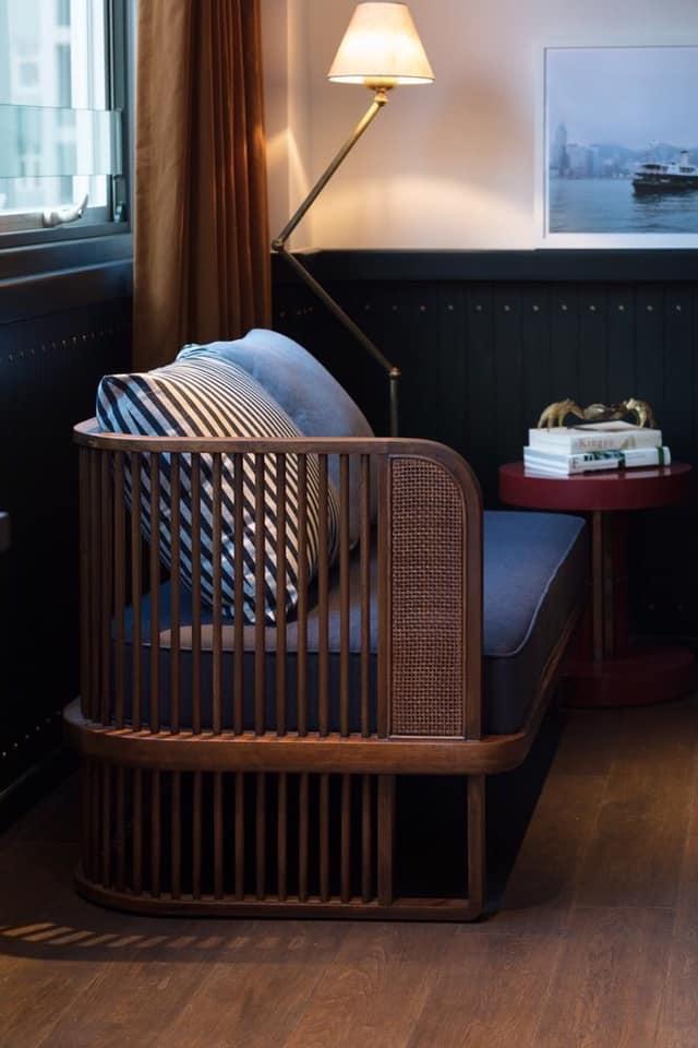Sofa đơn giản và đẹp - Ảnh: pinterest.com